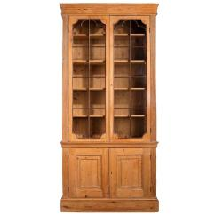 Bookshelf Chair For Sale Shower Chairs On Wheels Disabled Large George Iii Mahogany Pine Bookcase At 1stdibs