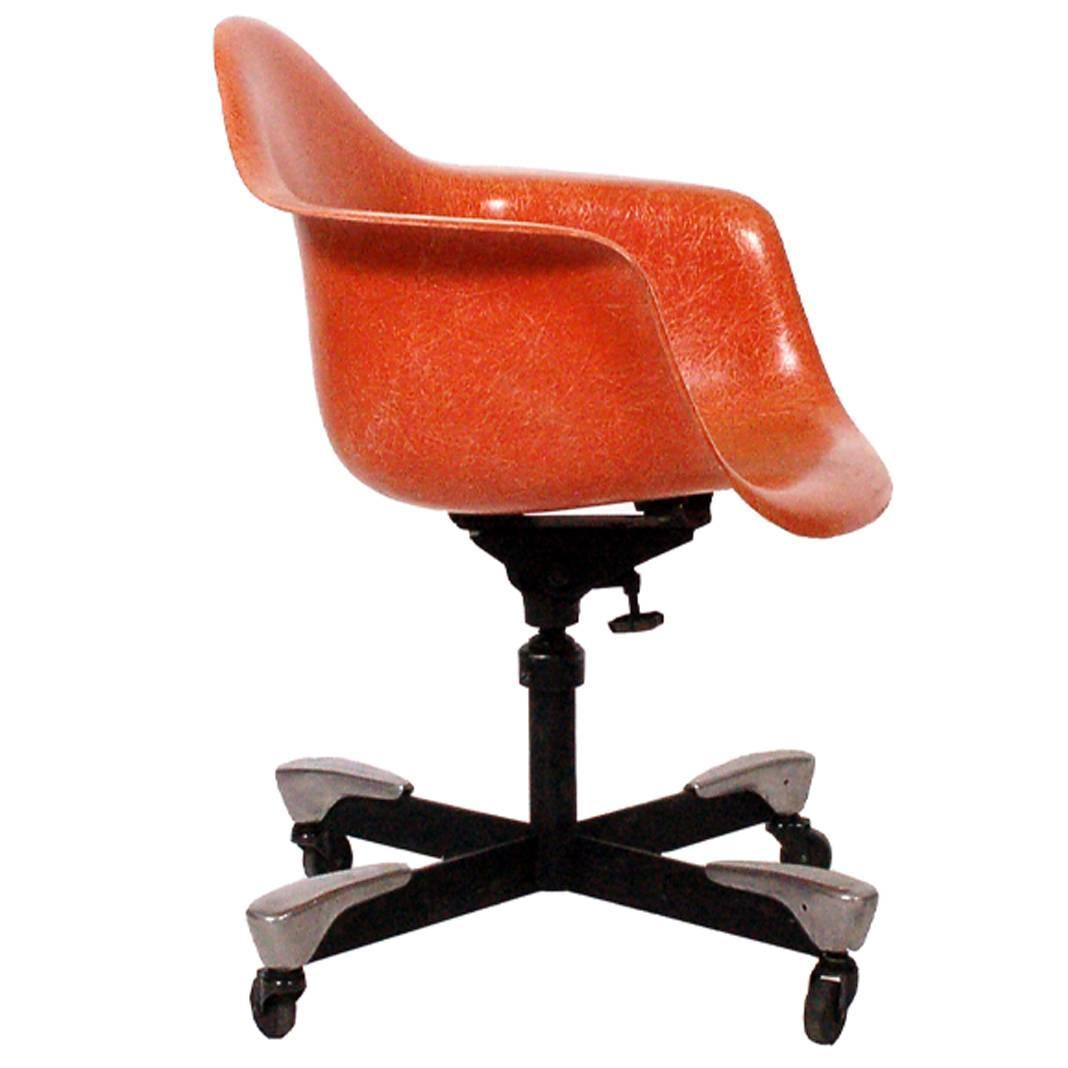 desk chair herman miller ergonomic cervical support charles eames dat for 1953 at 1stdibs