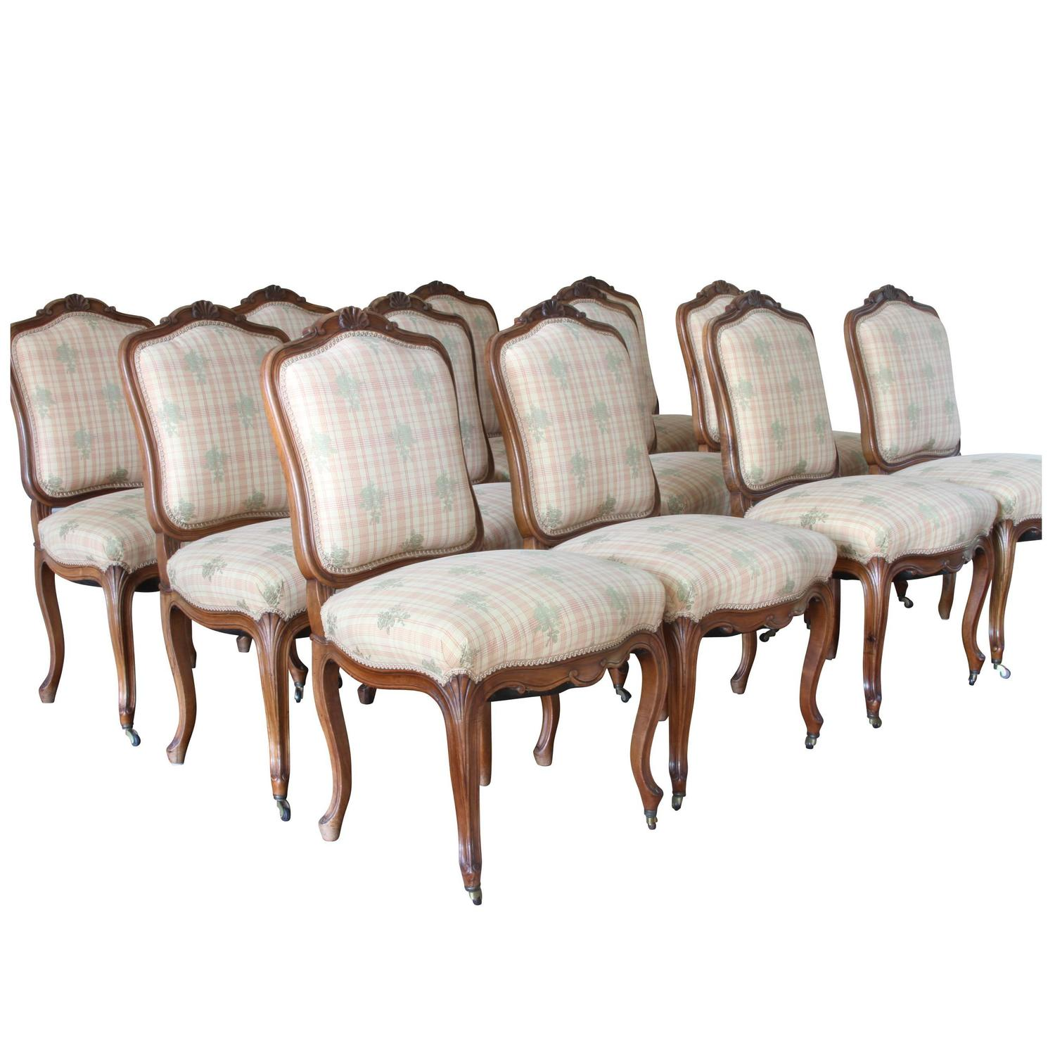 french antique chairs for sale ivory bedroom chair set of 12 carved fruitwood dining