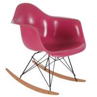 Charles Eames for Herman Miller Pink Fiberglass Lounge ...