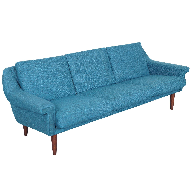 Danish Modern Sofa For Sale at 1stdibs