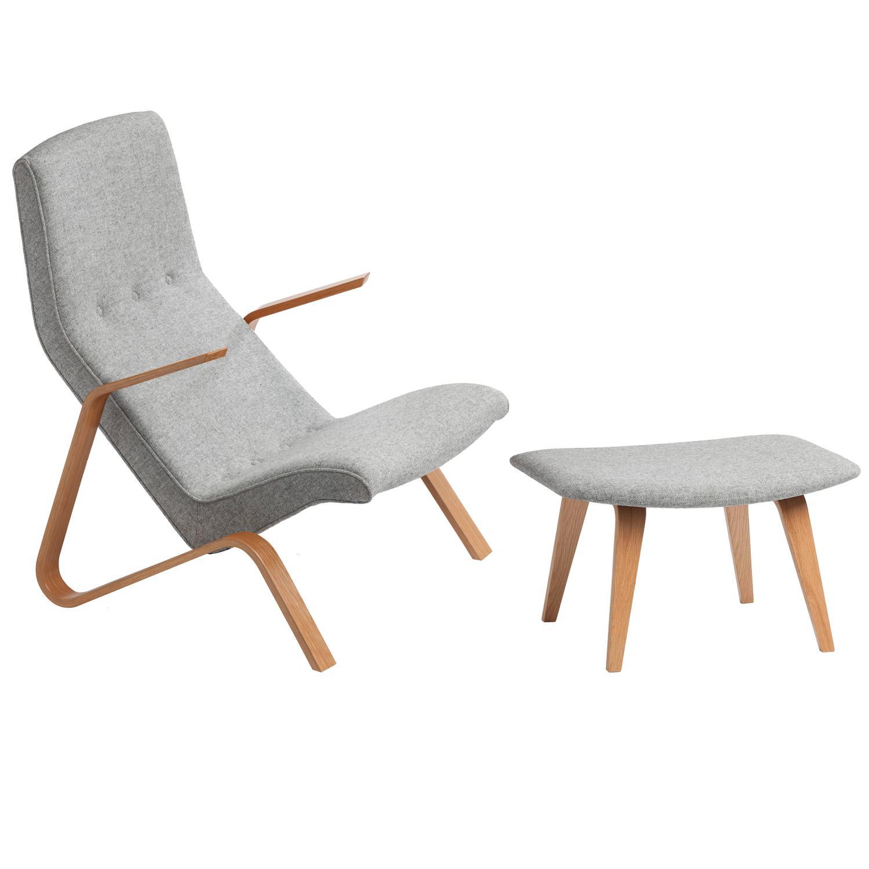 saarinen grasshopper lounge chair soccer ball and ottoman eero design