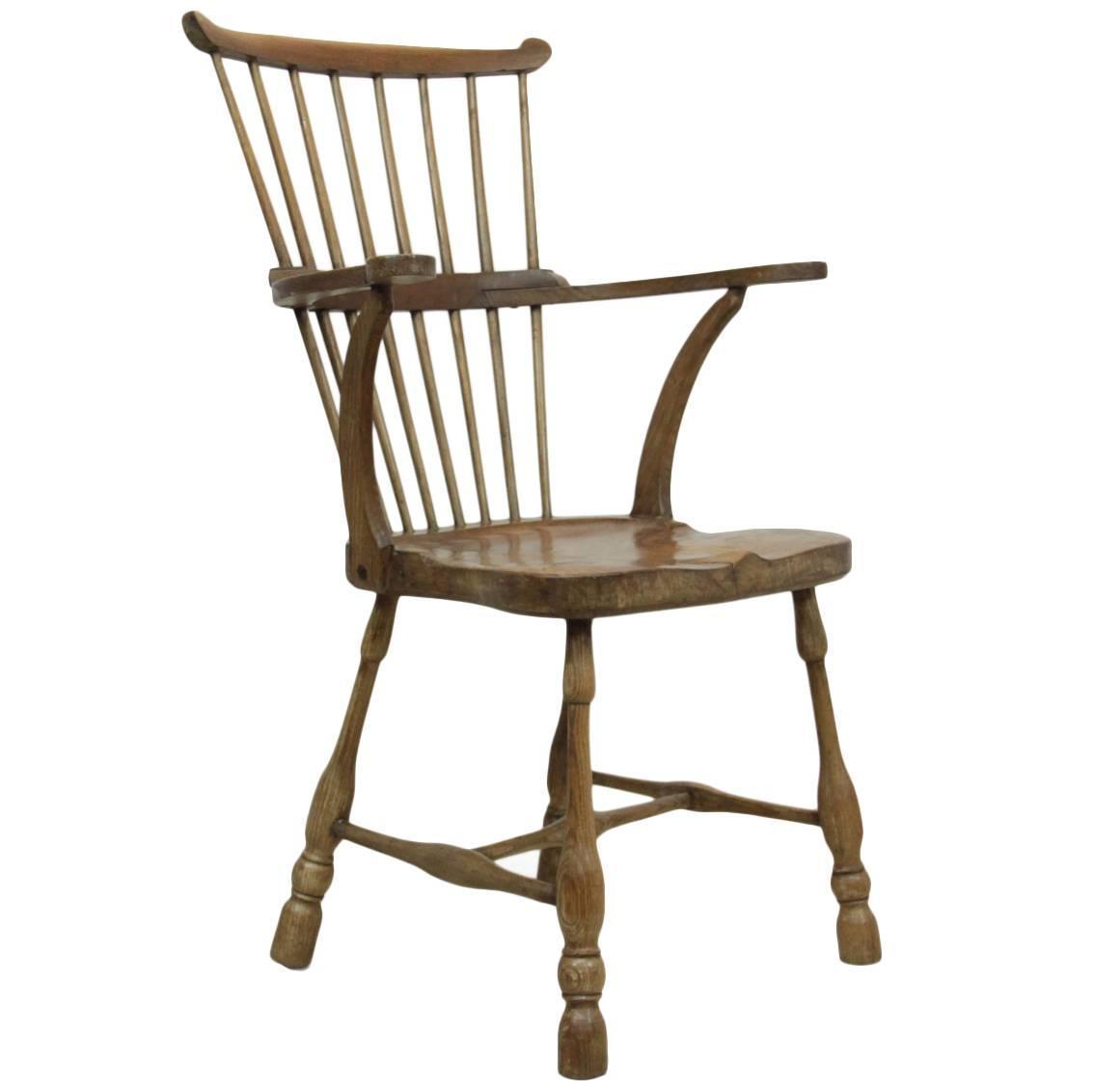 comb back windsor chair folding vector circa 1780 at 1stdibs