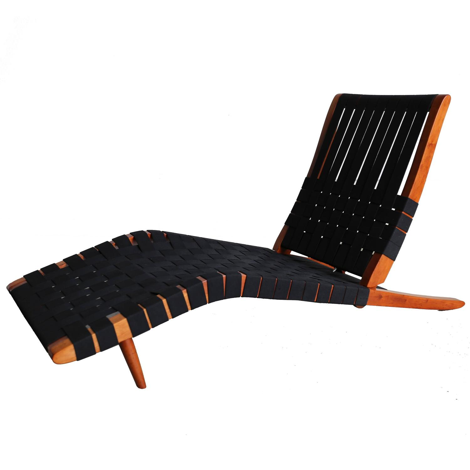 long lounge chair wooden restaurant chairs with arms quotlong quot by george nakashima at 1stdibs