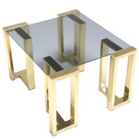 Mid-century Brass Coffee Table or End Table For Sale at ...