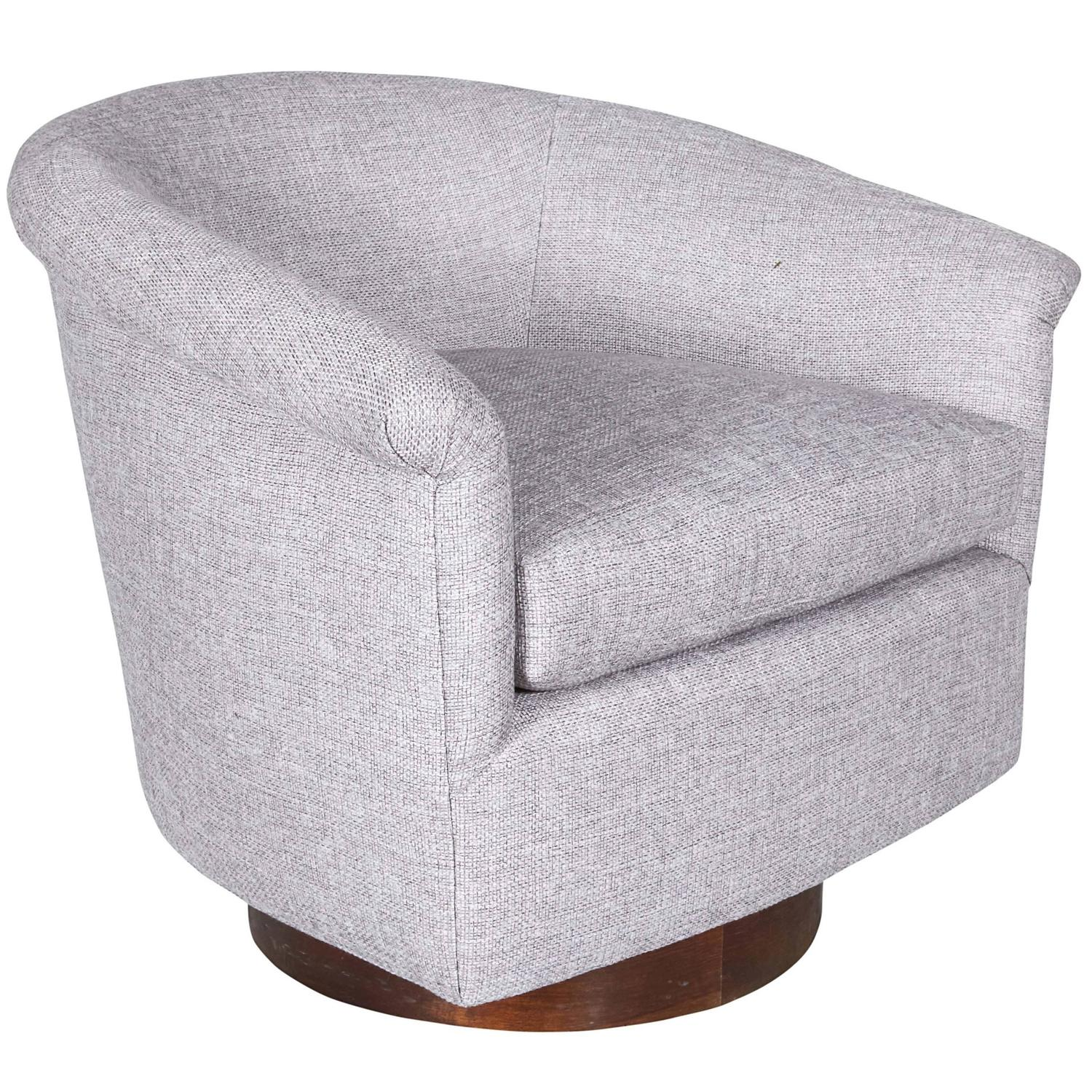 swivel chair mid century amazon stacking covers tub for sale at 1stdibs