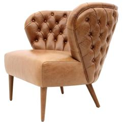 Arm Chairs For Sale Embroidered Directors Italian Modern Chesterfield Style Tan Button Backed