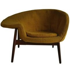 Fried Egg Chair Banquet Covers With Sashes By Hans Olsen Denmark At 1stdibs For Sale