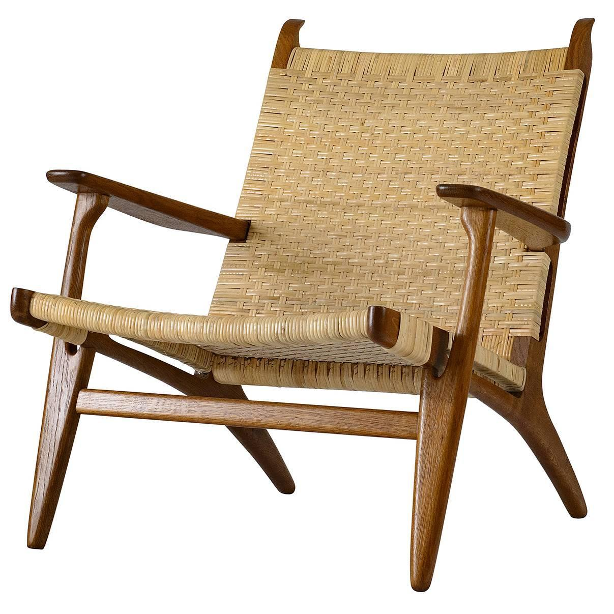 hans wegner the chair white folding chairs for weddings ch 27 lounge sale at 1stdibs