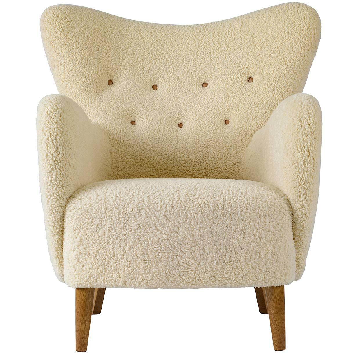 sheepskin chair covers for recliners uk coastal accent chairs scandinavian lounge sale at 1stdibs