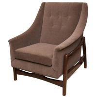 Vintage Paoli Rocking Lounge Chair at 1stdibs
