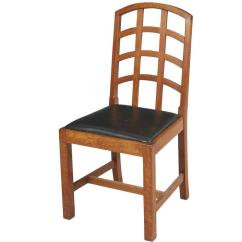 Desk Chair Made Ashley And A Half Recliner Ambrose Heal Arts Crafts Oak Lattice Back By Heals For Sale