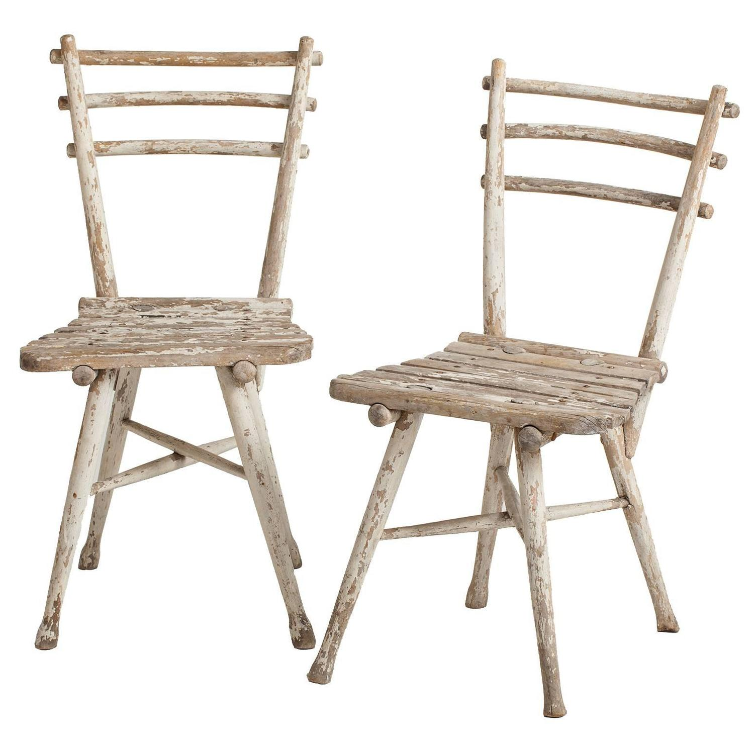 thonet chair styles swing on your pair of antique austrian garden chairs circa 1904