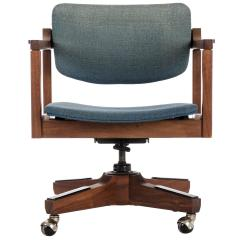 Desk Chair York Amazon Uk Recliner Covers Danish Modern Office By Marden For Sale At 1stdibs