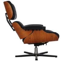 Mid-Century Modern Leather and Plywood Lounge Chair by ...