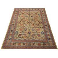 Tabriz carpet circa 1900, 3,70 x 2,90 m. For Sale at 1stdibs