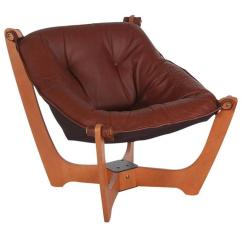 Lounge Chair Leather Amazon Bar Covers Mid Century Modern Danish After Ingmar Relling For Westnofa Sale
