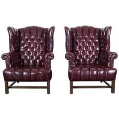Leather Chairs For Sale Simple Office Chair Danish Modern Wingback At 1stdibs Vintage Tufted
