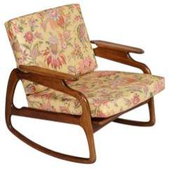 Adrian Pearsall Rocking Chair Foam For Chairs Fabulous Sculptural Walnut Mid Century Modern Danish By Blond Texture