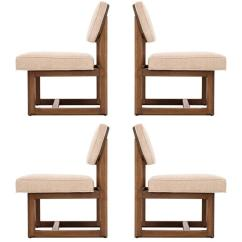 Frank Lloyd Wright Chairs High Chair Food Catcher Set Of Four For Sale At 1stdibs
