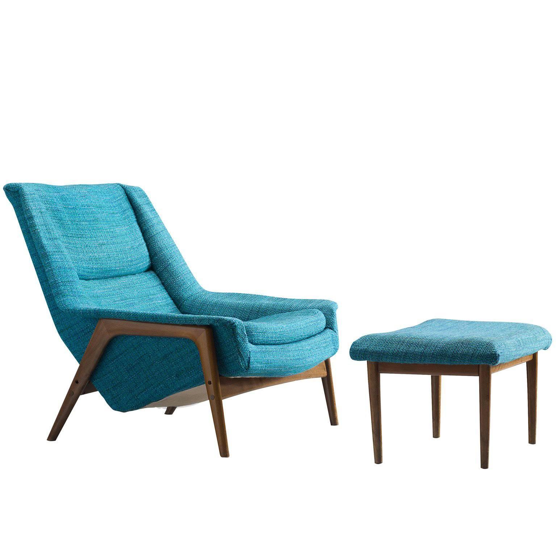 Remarkable Blue Lounge Chair Brookerpalmtrees Spiritservingveterans Wood Chair Design Ideas Spiritservingveteransorg