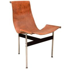 Sling Chairs For Sale Old Metal Lawn Katavolos Leather T Chair At 1stdibs