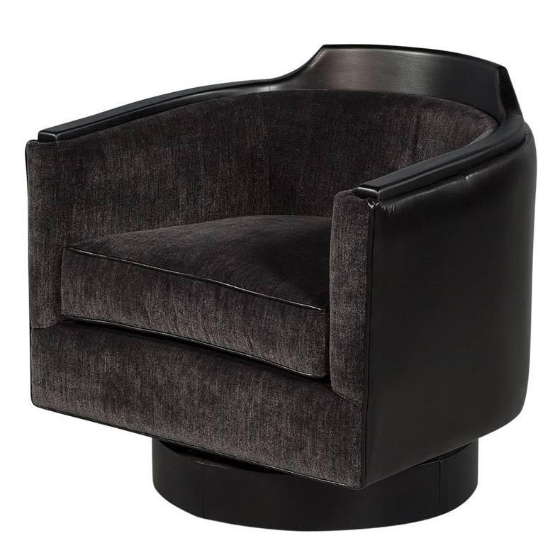swivel tub chairs crate and barrel office chair mid century modern at 1stdibs for sale