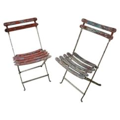 Folding Chairs For Sale Counter Height Chair Slipcovers Antique French At 1stdibs