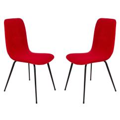 Red Chairs For Sale Accent Overstock Fameg Pair Of A 6150 Type 1960s Poland At