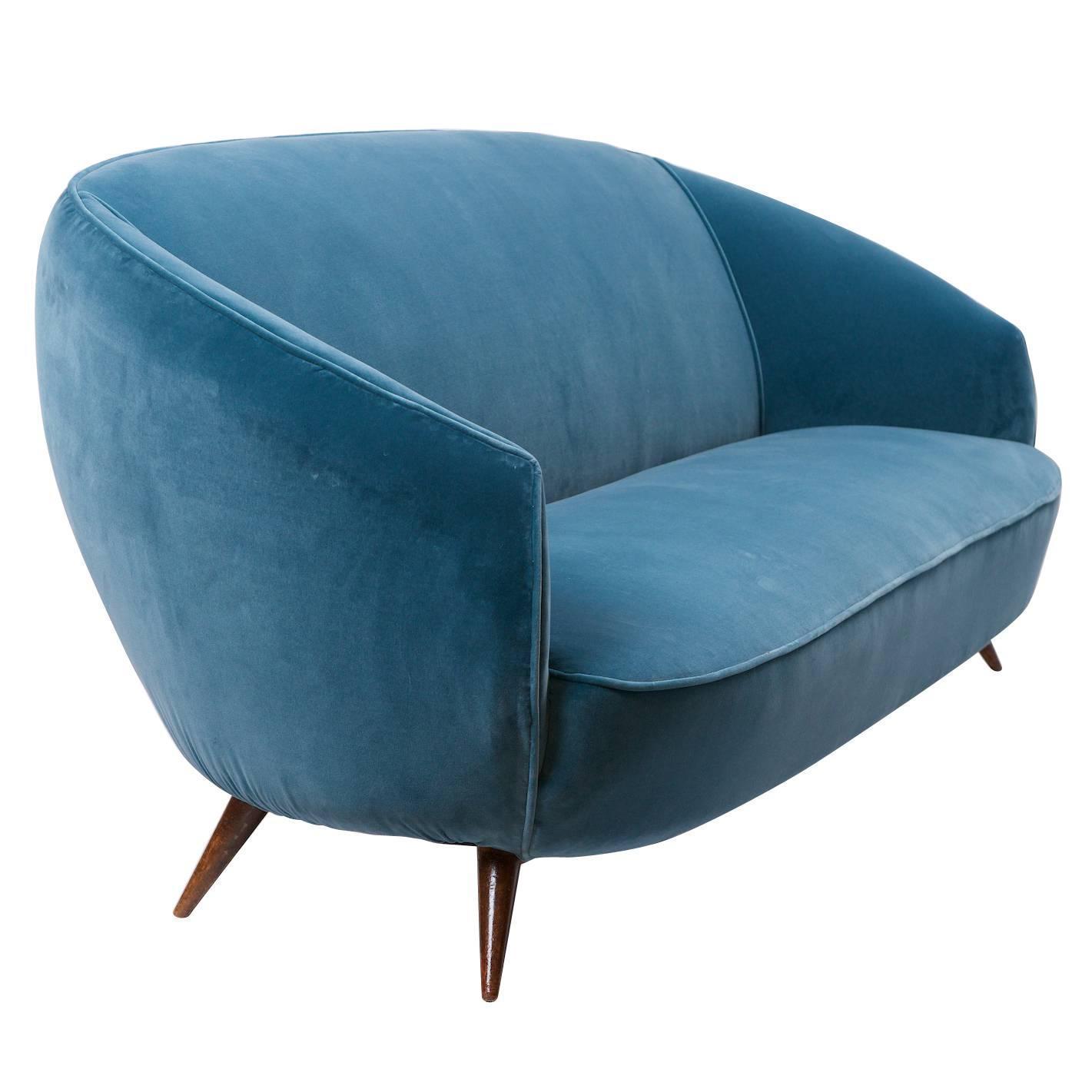 sofa ball stopper circe clei prezzo ico parisi style circa 1950 at 1stdibs