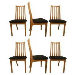 Danish Dining Chair Design For Elderly Six Midcentury Chairs Tangso Mobler