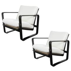 Morris Chairs For Sale Boxed Chair Cushions Pair Of Adjustable Modern By Edward Wormley