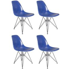 Herman Miller Chairs Vintage Hanging Chair Cad Blue Eames For Sale At 1stdibs
