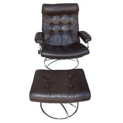 Stressless Chair Sale Table Design Ekornes And Ottoman 1972 At 1stdibs For
