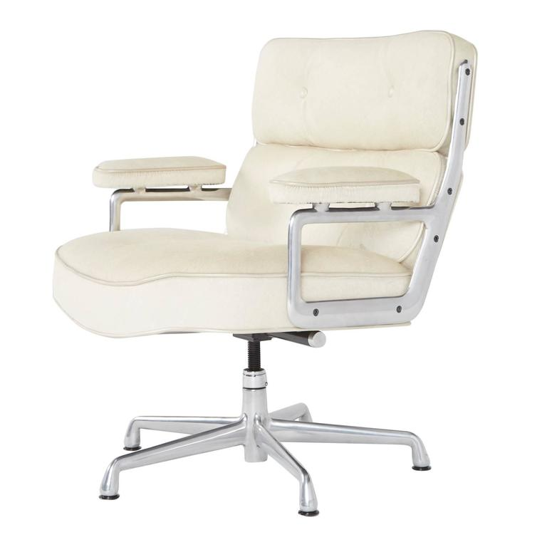 hair on hide office chair cesca replacement seats uk time life lobby chairs by eames for herman miller only 1