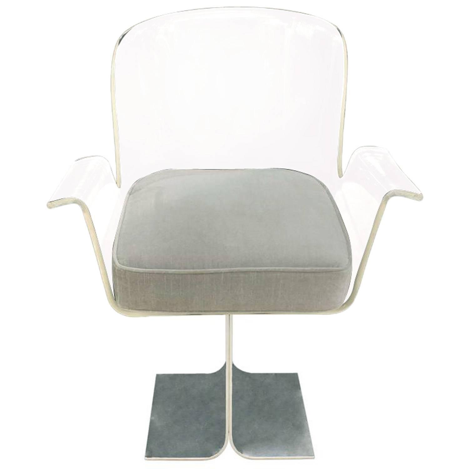 clear acrylic swivel office chair 2 person recliner chairs inspirational lucite rtty1
