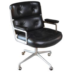Swivel Chairs For Sale High Chair Alternatives Toddlers Vintage Black Leather Eames Time Life At 1stdibs