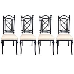 Outdoor Dining Chairs Sale Plastic Stool Chair Philippines 20th Century Chinese Chippendale Style In Set Of Four