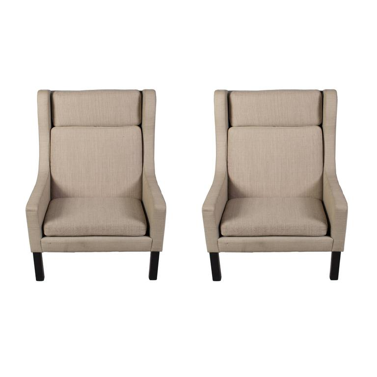 wing chairs on sale japanese dining chair very modern looking pair of for at 1stdibs