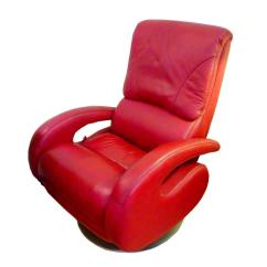 Leather Recliner Chairs On Sale Handicap Shower Chair Red By Lane For At 1stdibs