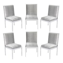 Milo Baughman Dining Chairs Cheap Patio Lounge Set Of Six In Polished Chrome By