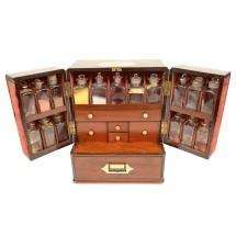 Elegant English Apothecary Cabinet 1stdibs