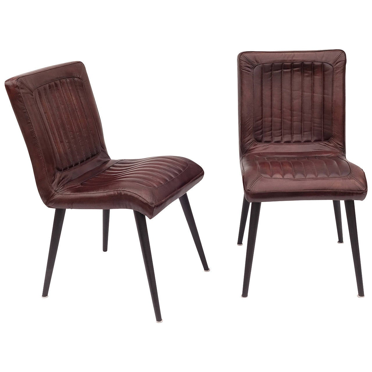 Chairs For Sale Leather Upholstered Dining Chairs For Sale At 1stdibs