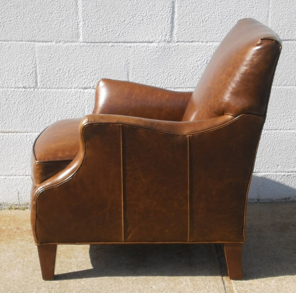 leather club chairs for sale office chair ireland upholstered at 1stdibs
