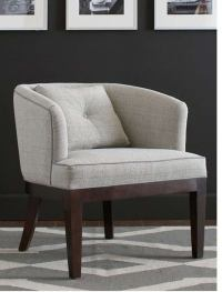 Round Back Club Chair at 1stdibs