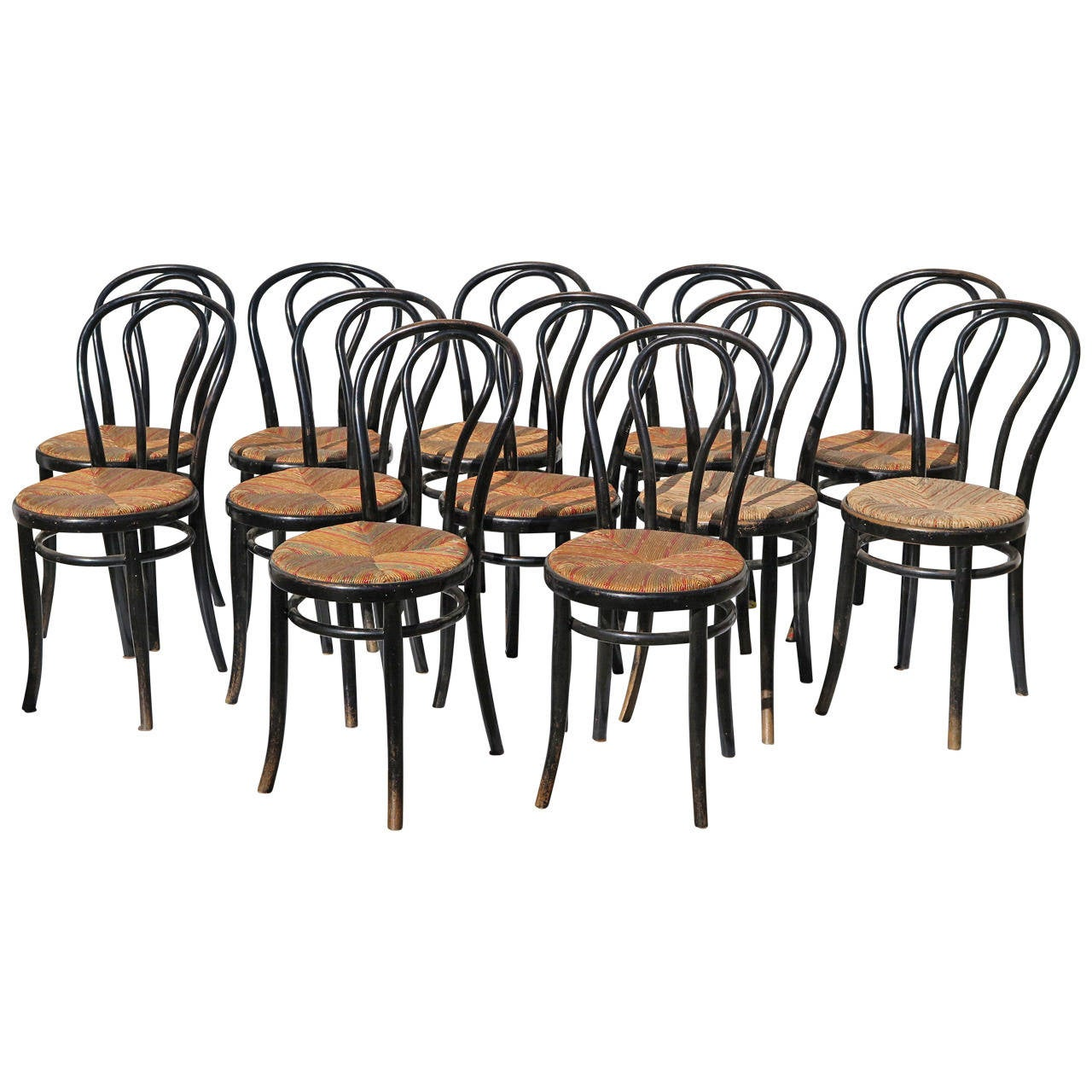 Bistro Chair French Bistro Chairs Six Available For Sale At 1stdibs