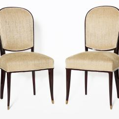 See Through Dining Chairs Pads For Bottom Of Chair Legs Maison Leleu Set Ten Lacquered France