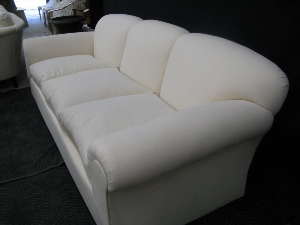 tight back sofas average sofa height seat large, comfortable back, loose for sale at ...