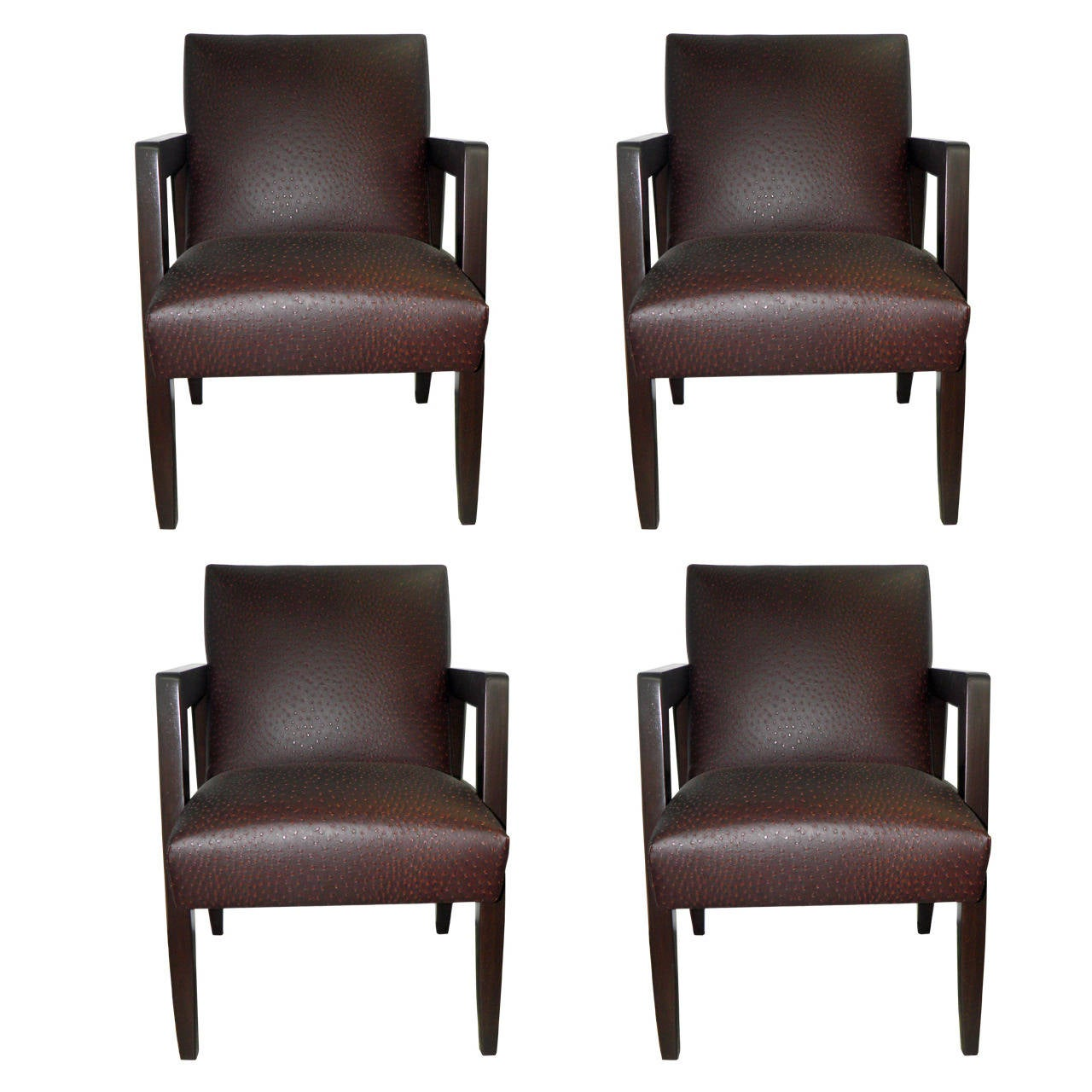 arm chairs for sale office chair hip pain set of four very chic 1940s armchairs at 1stdibs