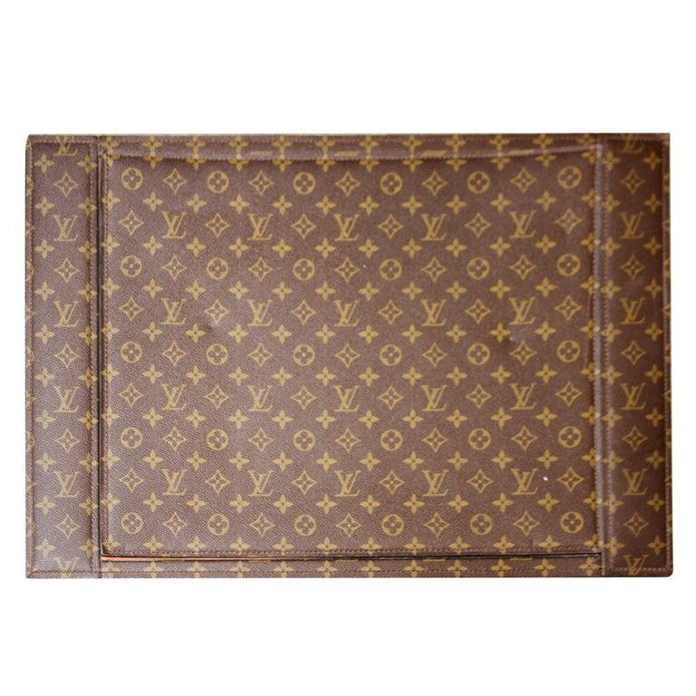 Rare Louis Vuitton Desk blotter at 1stdibs